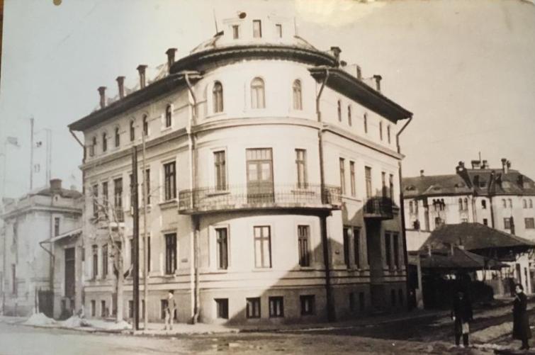 Cladirea Biroului Notarial in 1920